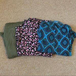 Bundle of buttery soft sleepwear shorts (3)